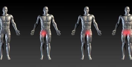 Hip flexor strain massage Watford